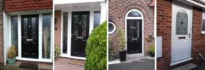 various composite doors by KLG