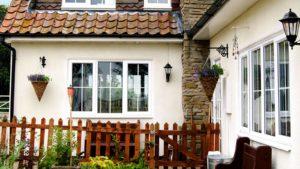 newly installed triple glazed windows