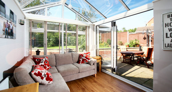 Conservatory with sofa