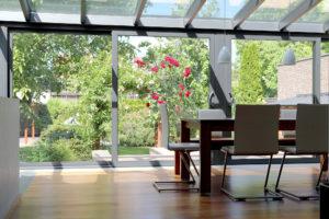 Modern Grey Conservatory
